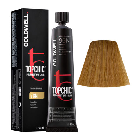 9GN Turmalin Goldwell Topchic Warm blondes tb 60ml