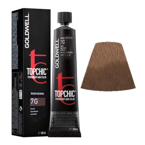 7G Haselnuss Goldwell Topchic Warm browns tb 60ml