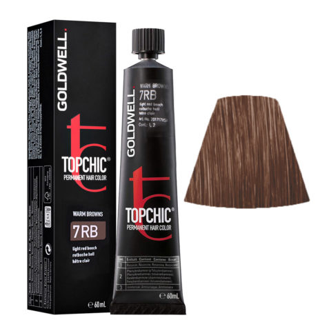 7RB Rotbuche hell Goldwell Topchic Warm browns tb 60ml