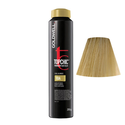 10A Pastell-aschblond Goldwell Topchic Cool blondes can 250gr