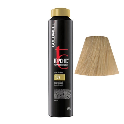 10V Pastell-violablond Goldwell Topchic Cool blondes can 250gr