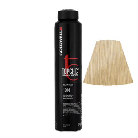 10N Extra hellblond Goldwell Topchic Naturals can 250gr