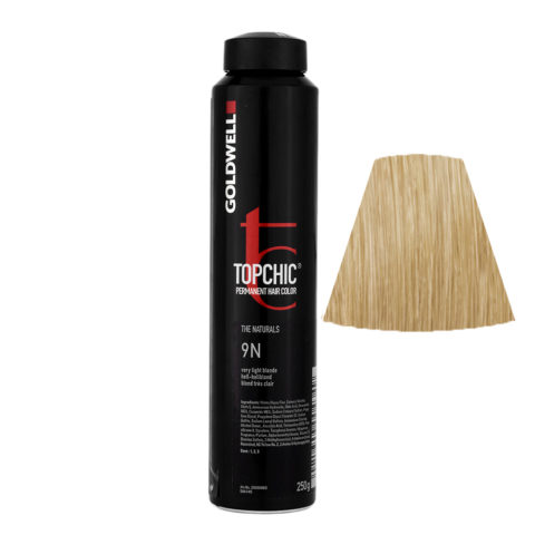 9N Hell-hellblond Goldwell Topchic Naturals can 250gr