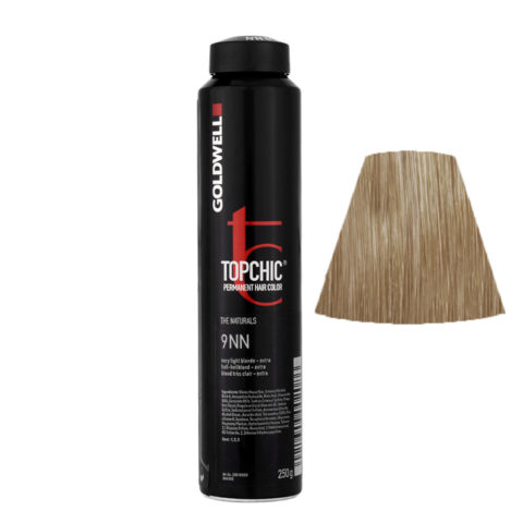 9NN Hell-hellblond extra Goldwell Topchic Naturals can 250gr