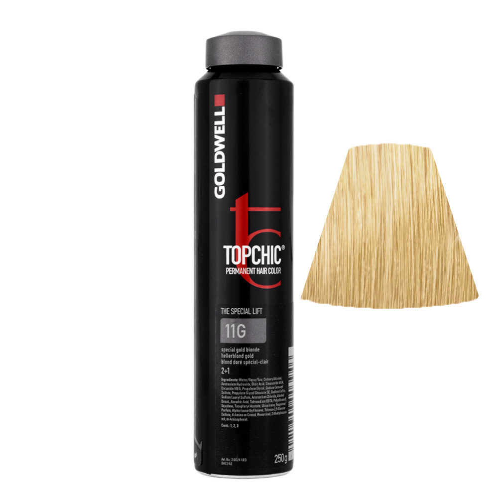 11G Hellerblond gold Goldwell Topchic Special lift can 250gr