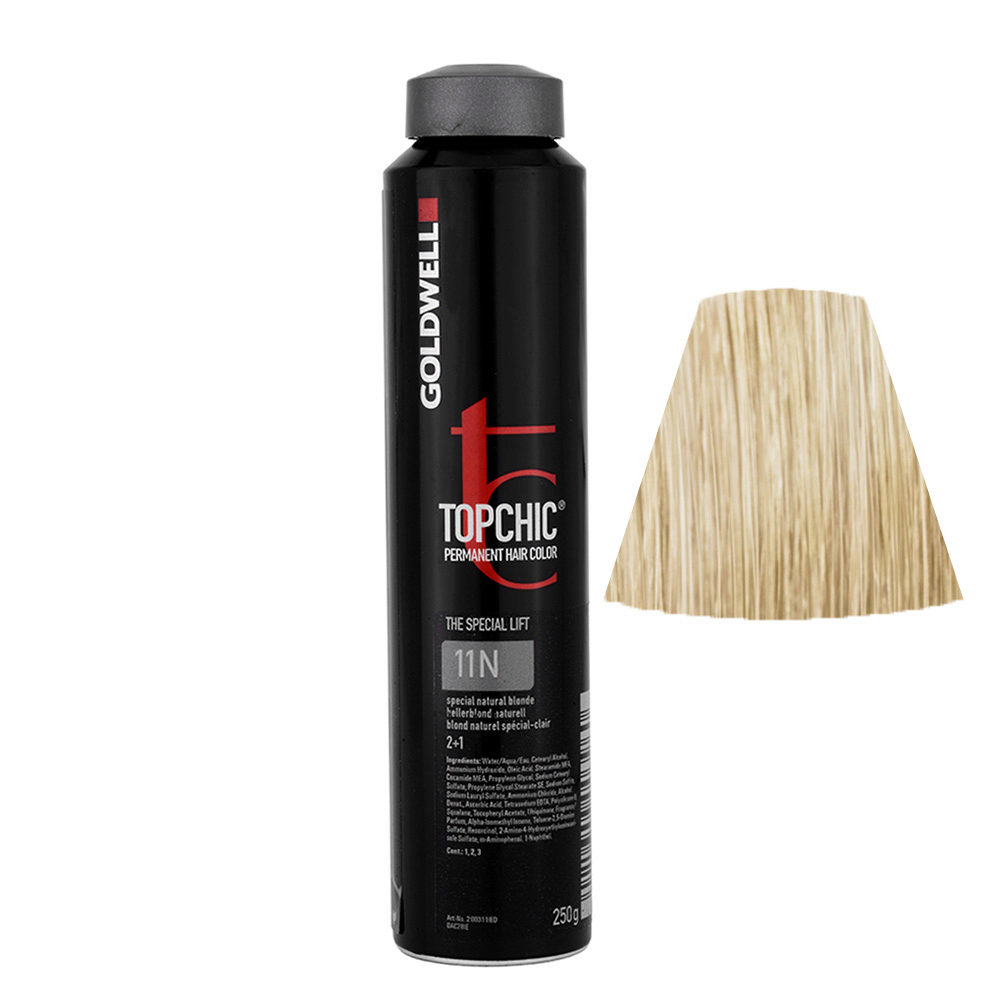 11N Hellerblond naturell gold Goldwell Topchic Special lift can 250gr