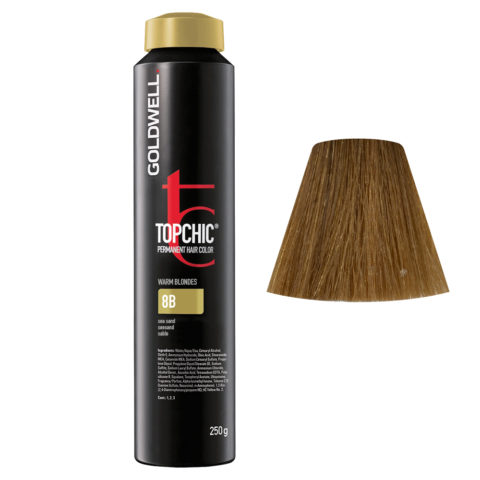 8B Seesand Goldwell Topchic Warm blondes can 250gr