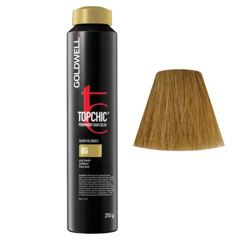 8G Goldblond Goldwell Topchic Warm blondes can 250gr