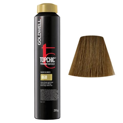 8GB Saharablond hellbeige Goldwell Topchic Warm blondes can 250gr
