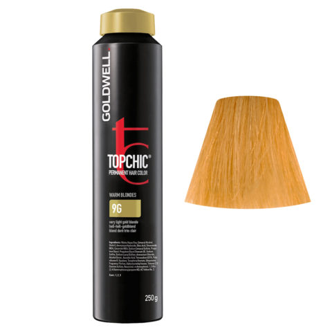 9G Hell-hell-goldblond Goldwell Topchic Warm blondes can 250gr