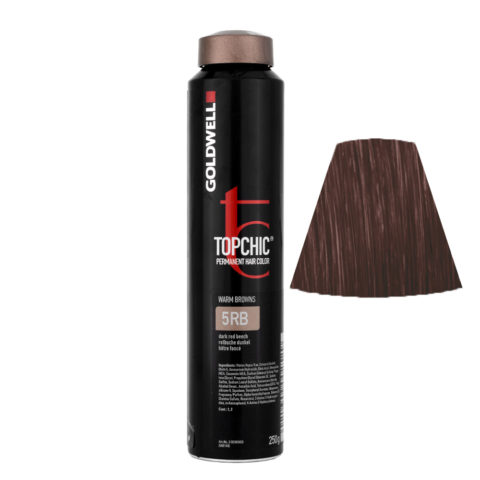 5RB Rotbuche dunkel Goldwell Topchic Warm browns can 250gr