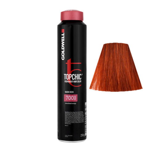 7OO MAX Sensationelle orange Goldwell Topchic Warm reds can 250gr