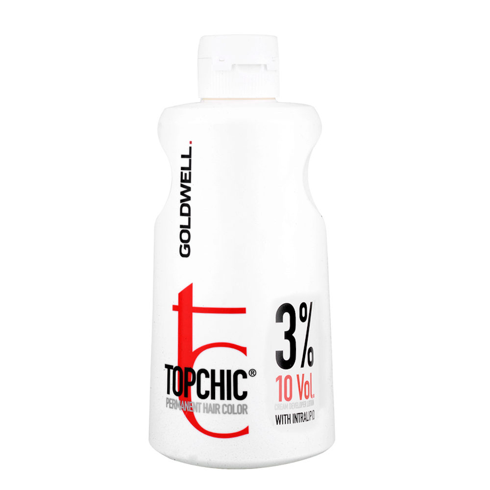 Goldwell Topchic Cream developer lotion 3% 10 vol. 1000ml
