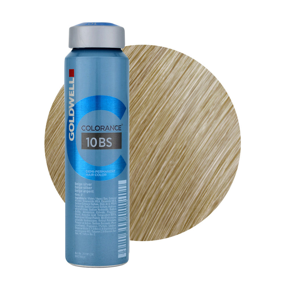 10BS Beige silber Goldwell Colorance Cool blondes can 120ml