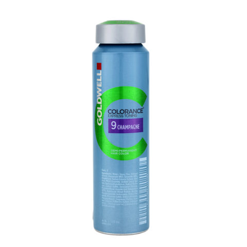 9 Champagne Goldwell Colorance Express toning can 120ml