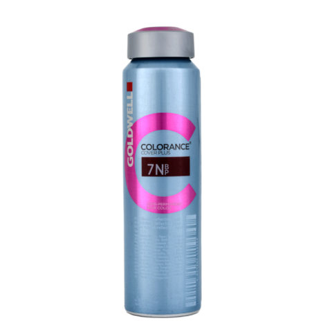 7NBP Mittelblond reflecting opal Goldwell Colorance Cover plus Triflective naturals can 120ml