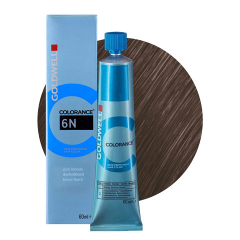 6N Dunkelblond Goldwell Colorance Naturals tb 60ml