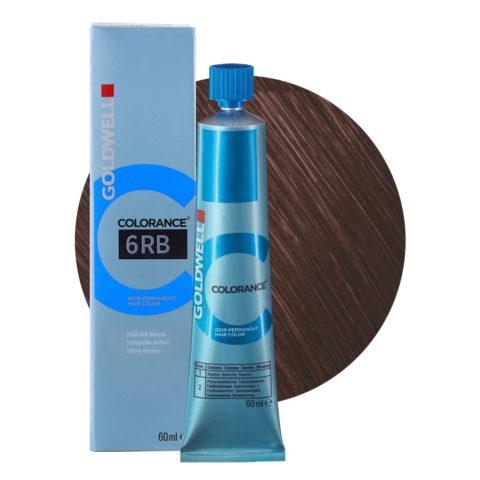 6RB Rotbuche mittel Goldwell Colorance Warm browns tb 60ml