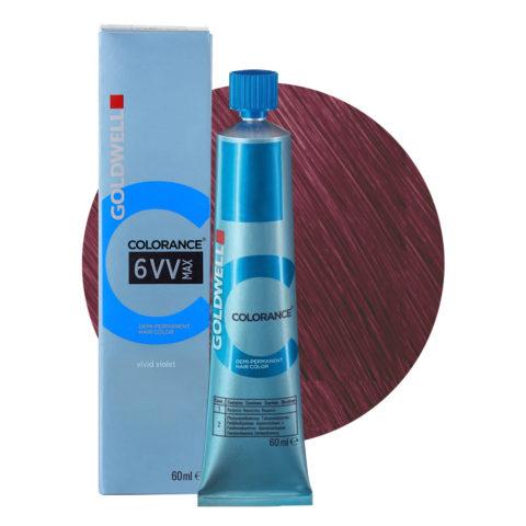 6VV MAX Vivid violet Goldwell Colorance Cool reds tb 60ml