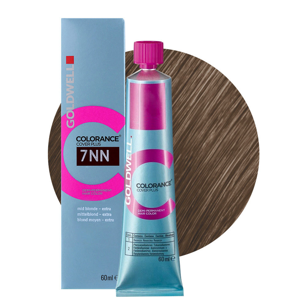 7NN Mittelblond extra Goldwell Colorance Cover plus Naturals tb 60ml