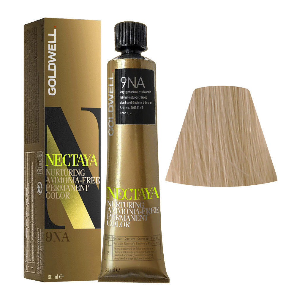 9NA Hell-hell-natur-aschblond Goldwell Nectaya Cool blondes tb 60ml
