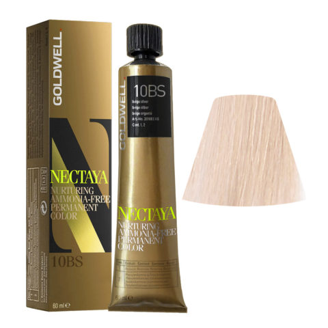 10BS Beige silber Goldwell Nectaya Cool blondes tb 60ml