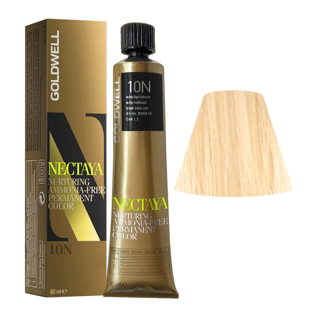 10N Extra hellblond Goldwell Nectaya Naturals tb 60ml