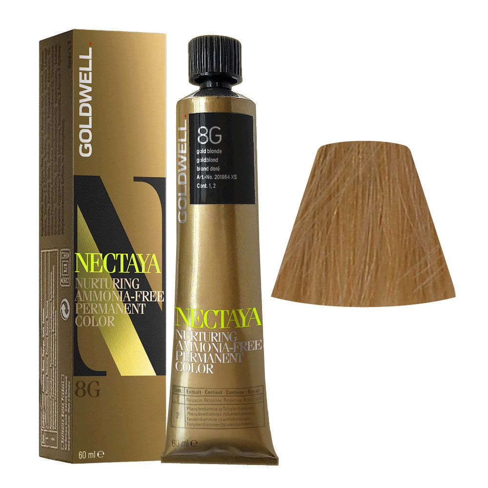 8G Goldblond Goldwell Nectaya Warm blondes tb 60ml