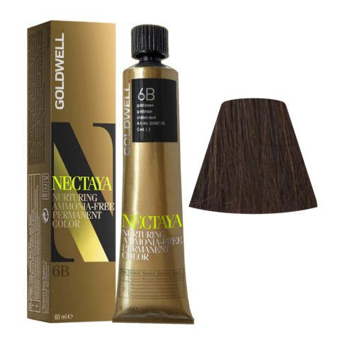 6B Goldbraun Goldwell Nectaya Warm browns tb 60ml