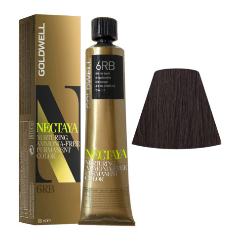 6RB Rotbuche mittel Goldwell Nectaya Warm browns tb 60ml