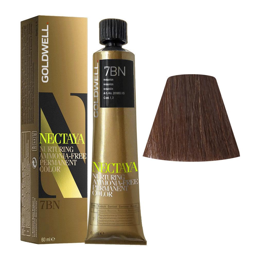 7BN Vesuvian Goldwell Nectaya Warm browns tb 60ml