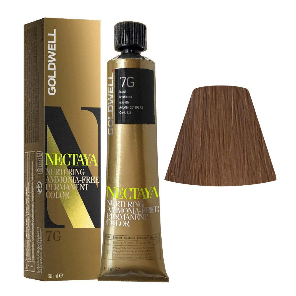 7G Haselnuss Goldwell Nectaya Warm browns tb 60ml
