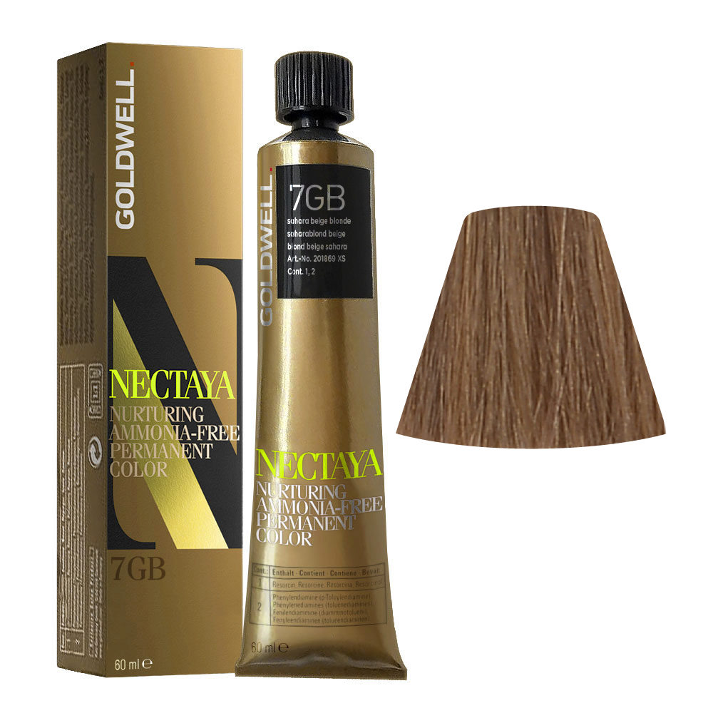 7GB Saharablond beige Goldwell Nectaya Warm browns tb 60ml