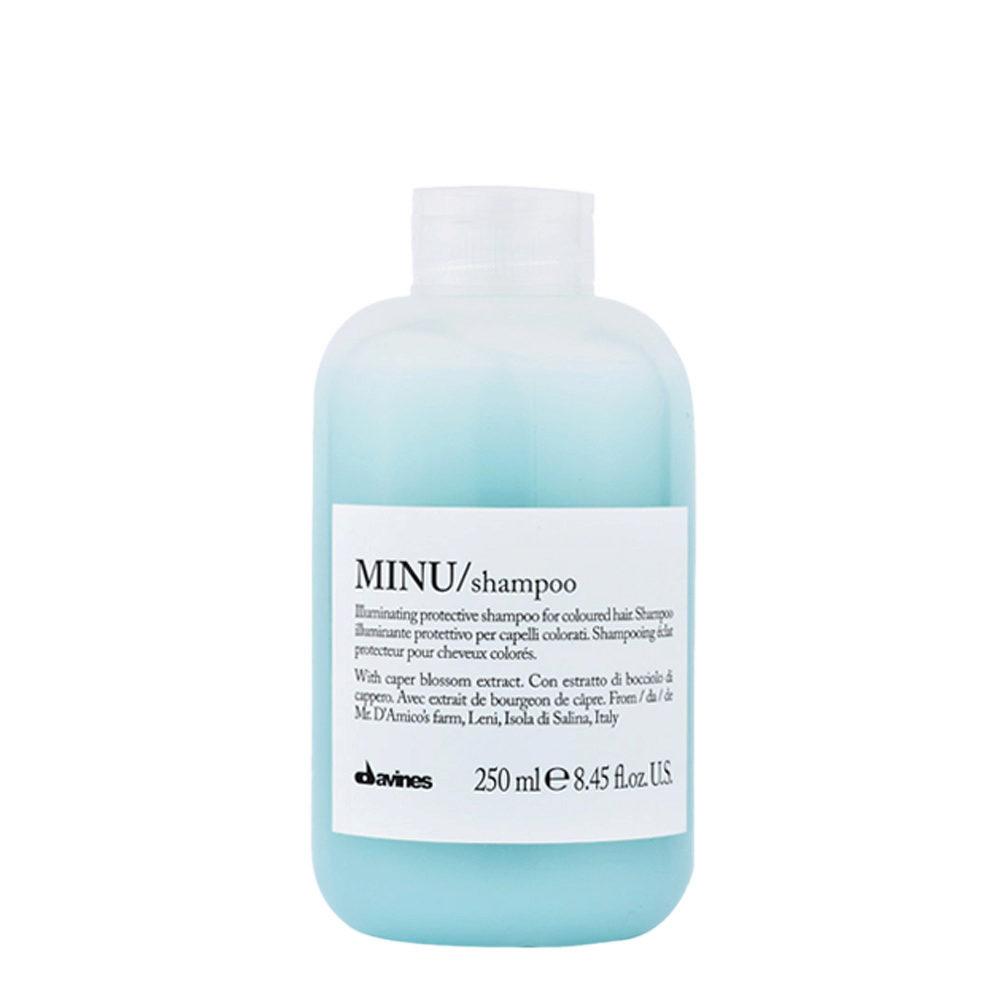 Davines Essential hair care Minu Shampoo 250ml - Leuchtkraftverstärkender shampoo