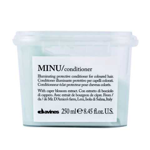 Davines Essential hair care Minu Conditioner 250ml - Leuchtkraftverstärkender Conditioner
