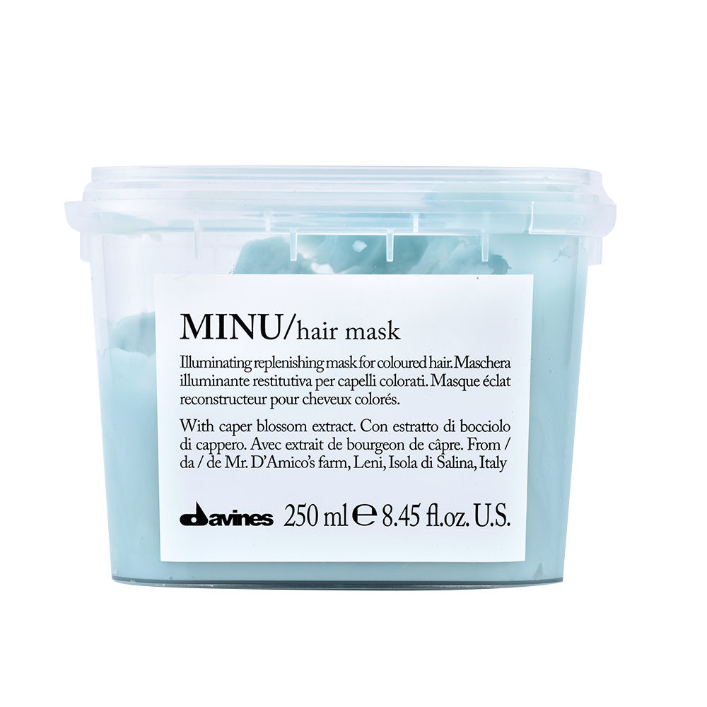 Davines Essential hair care Minu Hair mask 250ml - Leuchtkraftverstärkende Haarmaske