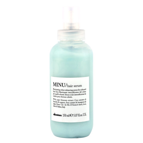 Davines Essential hair care Minu Hair serum 150ml - Leuchtkraftverstärkendes Leave-in Serum
