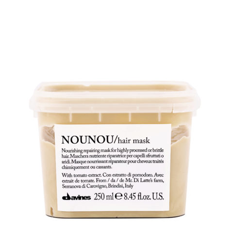 Davines Essential hair care Nounou Pak Hair Mask 250ml - restrukturierende Haarkur