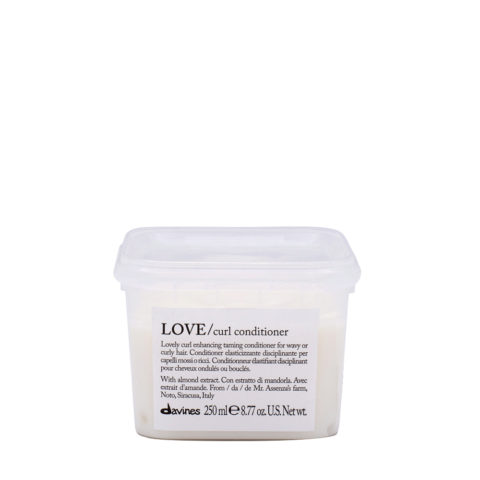 Davines Essential hair care Love curl Conditioner 250ml - Ausgleichender Conditioner für Elastizität