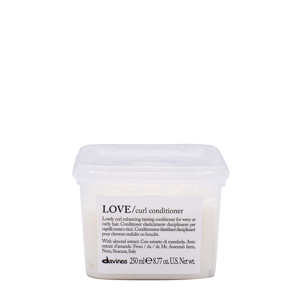 Davines Essential hair care Love curl Conditioner 250ml - Ausgleichender Conditioner für Elastizität