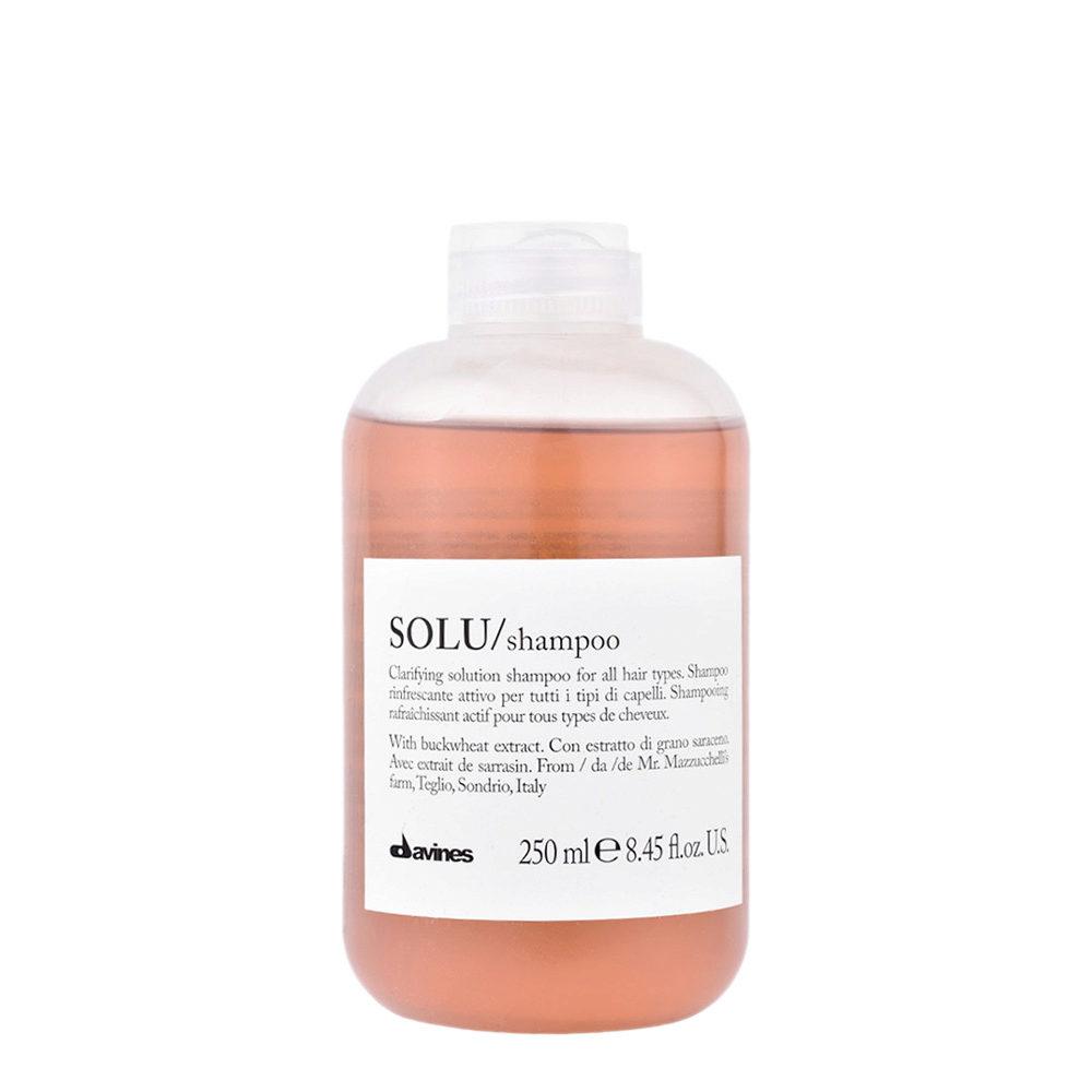 Davines Essential hair care Solu Shampoo 250ml - Tiefenreinigendes Shampoo