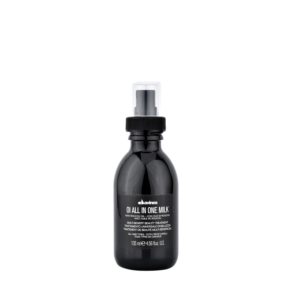 Davines OI All In One Milk 135ml - Leave-in Multifunktionsspray mit Roucou-Öl