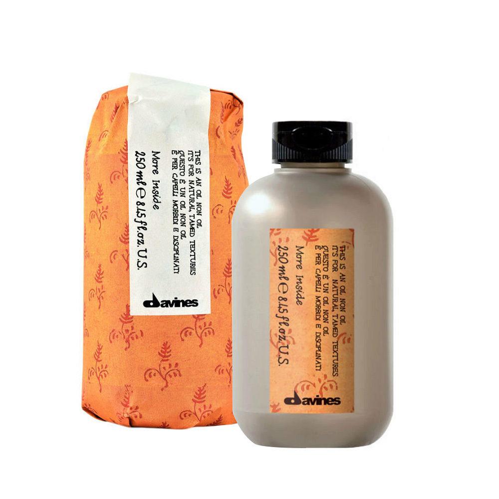 Davines More inside Oil non oil 250ml - Flüssiges Gel ohne Halt