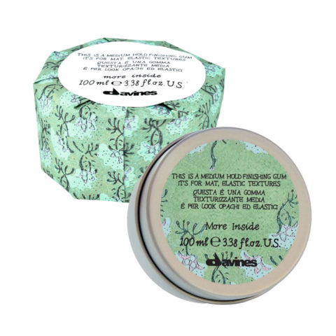 Davines More inside Medium hold finishing gum 75ml - Für matte