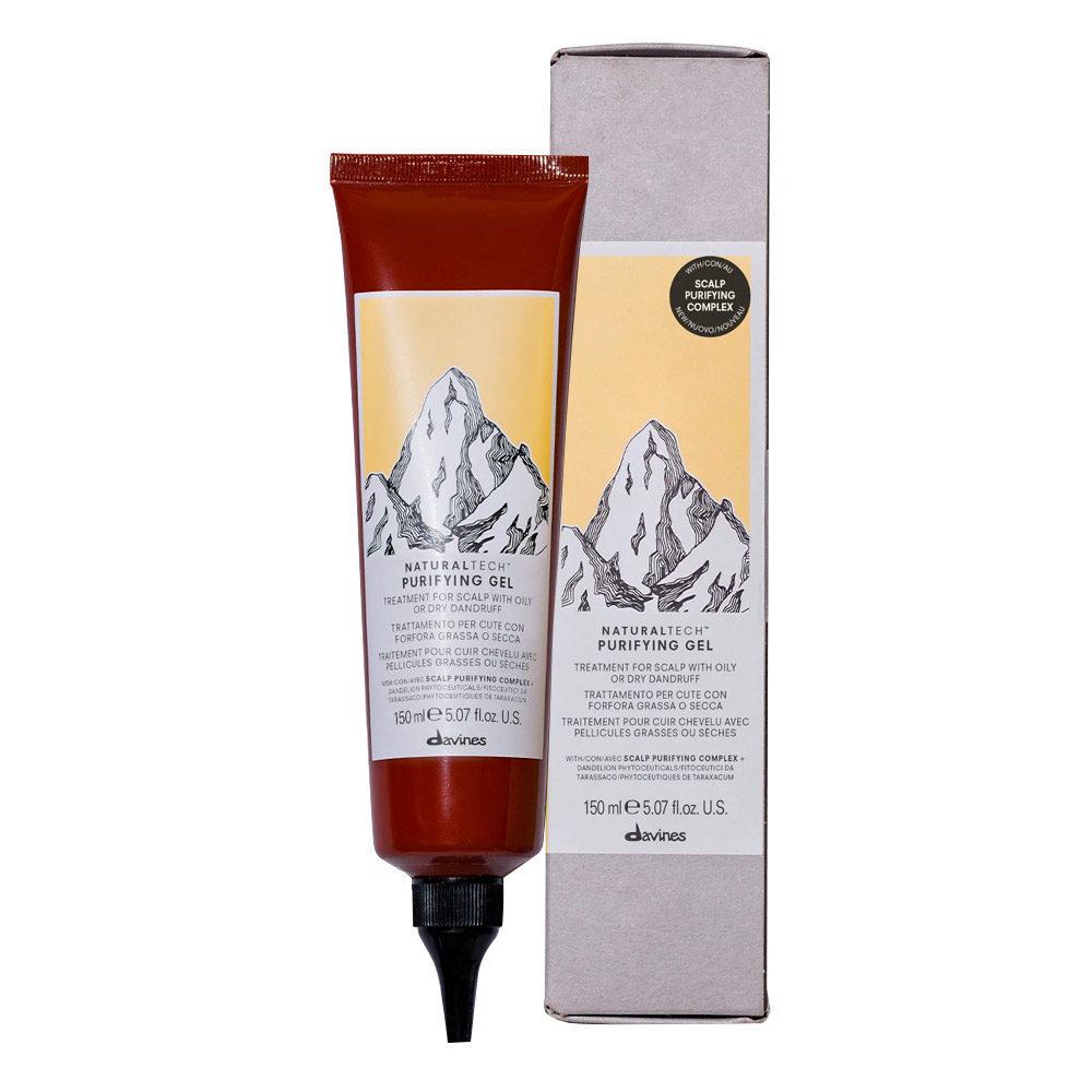 Davines Naturaltech Purifying Gel 150ml - Kopfhautbehandlung