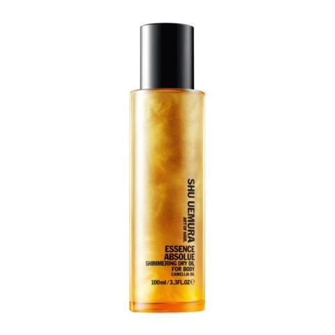Shu Uemura Essence absolue Shimmering dry oil for body 100ml - Glitzerndes Körperöl