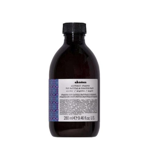 Davines Alchemic Shampoo Silver 280ml - Shampoo Für Platinblondes Haar