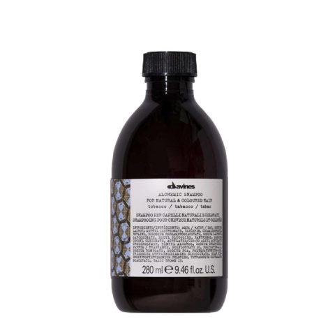 Davines Alchemic Shampoo Tobacco 280ml - Intensiviert mittel- bis hellbraunes Haar