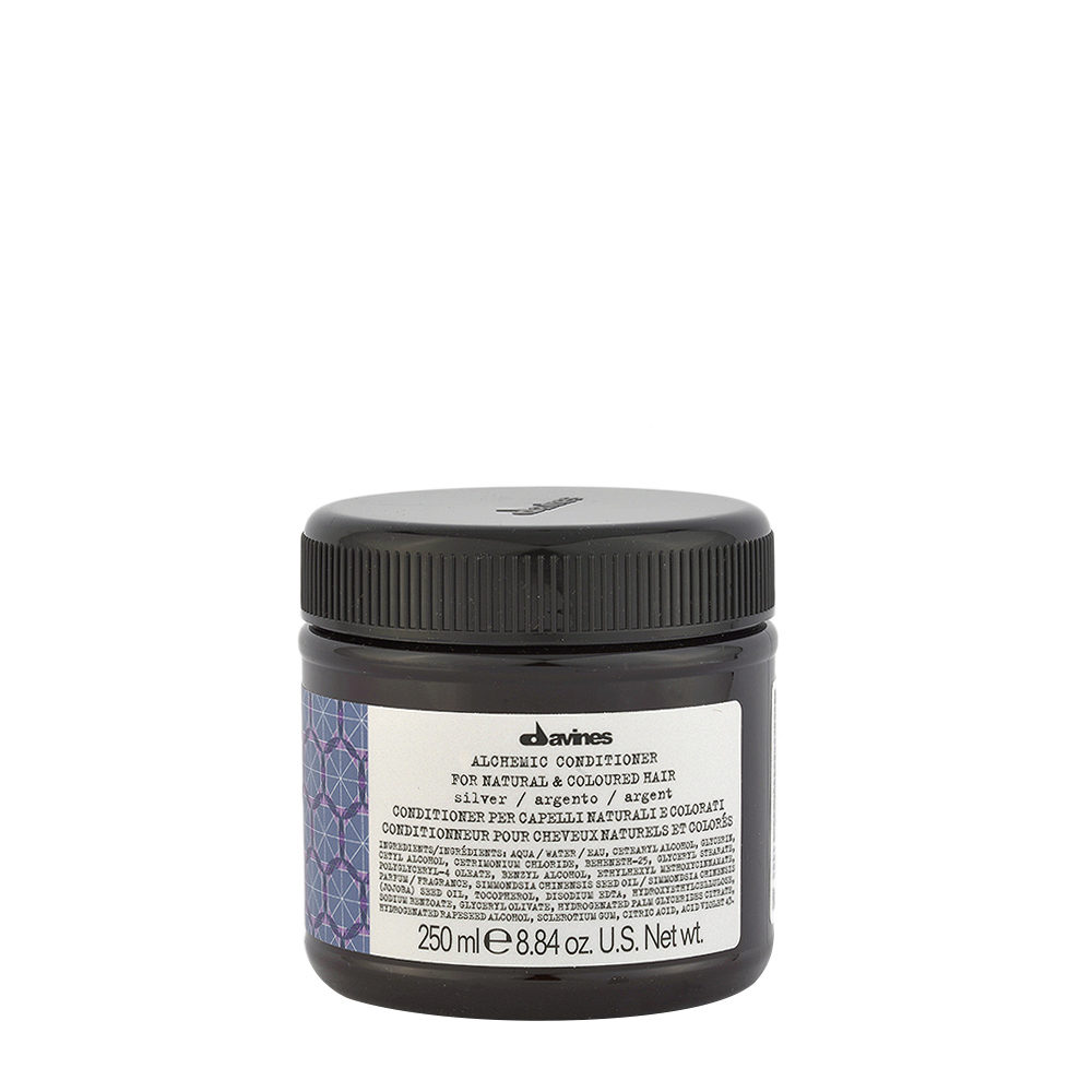 Davines Alchemic Conditioner Silver 250ml - Intensiviert Platinblondes Conditioner