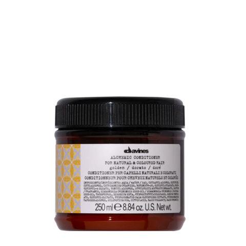 Davines Alchemic Conditioner Golden 250ml - Intensiviert gold- und honigblondes Haar